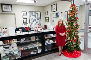 Add some cheer to your holidays with a visit with Betty Lynn at the Andy Griffith Museum. Photo by Hobart Jones.