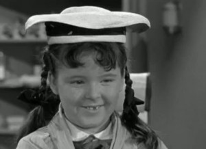 Joy Ellison as Miss Mayberry Jr., Mary Wiggins. All hail!