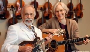 Roland White and Diane Bouska