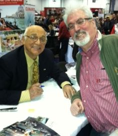 "Two-time TAGS guest star Gavin MacLeod (right) is making the rounds promoting his new memoir titled ""This Is Your Captain Speaking: My Fantastic Voyage Through Hollywood, Faith & Life.""  He's seen here with TAGSRWC member Paul Gilkes at a celebrity and memorabilia show in Columbus, Ohio, in January."
