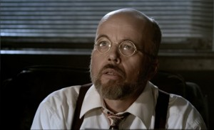 """Clint Howard in """"Sparks,"""" an indie super-hero film in select theaters (and at select film festivals) and also now on DVD."""