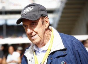 Jim Nabors at the Indy 500 in May.
