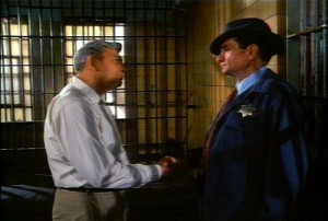 BIZARRO MAYBERRY--Prisoner Andy Griffith and Sheriff Johnny Cash. Say whaaat?!