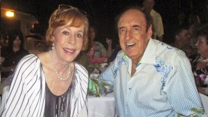IT'S MY PARTY--And I can smile if I want to!  Jim Nabors with Carol Burnett at his 85th birthday party.