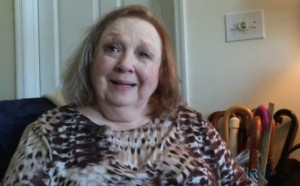 NEW VIEW--Betty Lynn during her recent interview for The Cleveland Plain Dealer.